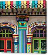 Singapore 12 Canvas Print