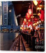 Singapore Boat Quay 03 Canvas Print