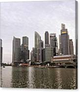 Singapore's Marina Bay Canvas Print