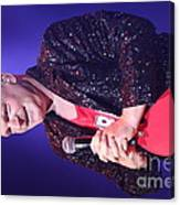 Singer Andy  Bell Canvas Print
