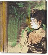 Singer In A Cafe Concert Canvas Print