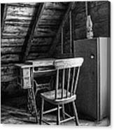Singer In The Attic Canvas Print