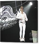 Singer Justin Bieber Canvas Print