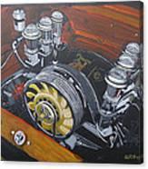 Singer Porsche Engine Canvas Print