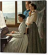 Singing A Ditty Canvas Print