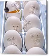 Singing Egg Canvas Print