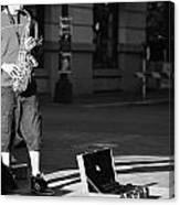 Singing Streets  Canvas Print