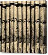 Singles In Sepia Canvas Print