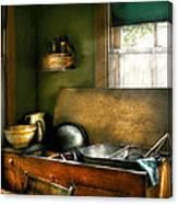 Sink - The Kitchen Sink Canvas Print