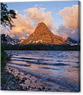 Sinopah Rising Canvas Print