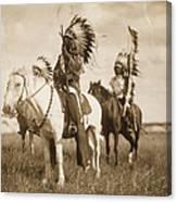 Sioux Chiefs  Canvas Print