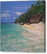 Siquijor Beach Canvas Print