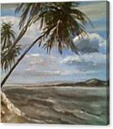 Siquijor Island Canvas Print