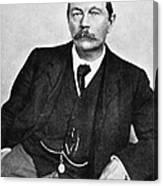 Sir Arthur Conan Doyle (1859-1930) Canvas Print