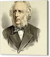 Sir Charles Reed  Educationalist Canvas Print