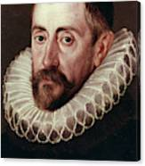 Sir Francis Walsingham (c1532-1590) Canvas Print