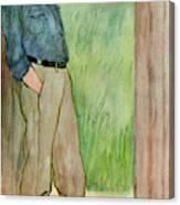 (sir) Godfrey Tearle  English Actor Canvas Print