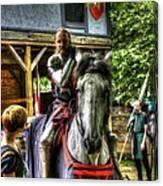 Sir Lancelot Du Lac Canvas Print