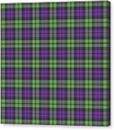 Sir Walter Scott Purple And Green Canvas Print