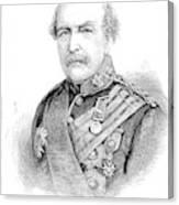 Sir William Williams  (1800-1883) Canvas Print