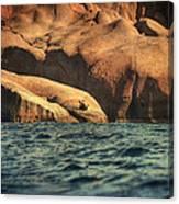 Siren Rocks II Canvas Print