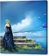 Sirens Lure Canvas Print