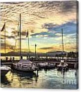 Sirmione Sunset Canvas Print