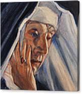 Sister Ann Canvas Print