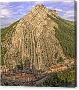 Sisteron South France Canvas Print