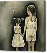 Sisters... Canvas Print