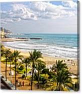 Sitges Spain On The Mediterranean Coast Canvas Print