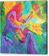 Sit'n And Pick'n Canvas Print