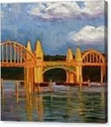 Siuslaw River Bridge Canvas Print