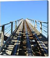 Six Flags America - Roar Roller Coaster - 12121 Canvas Print