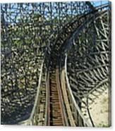 Six Flags America - Roar Roller Coaster - 12125 Canvas Print