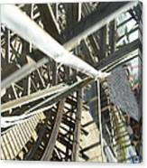 Six Flags America - Roar Roller Coaster - 12127 Canvas Print