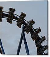 Six Flags Great Adventure - Medusa Roller Coaster - 12126 Canvas Print