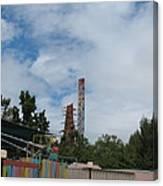 Six Flags Magic Mountain - 12122 Canvas Print