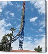 Six Flags Magic Mountain - 12125 Canvas Print