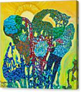 Sixth Creation Canvas Print
