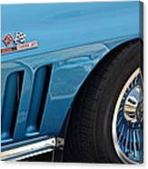 Sixty Six Corvette Roadster Canvas Print