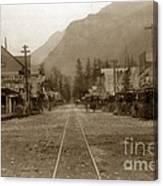 Skagway Alaska H. C. Bailey Photographer June 15 1898 Canvas Print