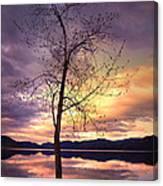 Skaha Lake On A Saturday Morning Canvas Print