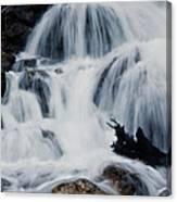 Skalkaho Waterfall Canvas Print