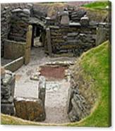 Skara Brae Dwelling Canvas Print