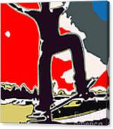 Skateboarder Canvas Print