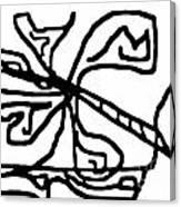 Sketch 18 Canvas Print