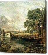 Sketch For View On The Stour Canvas Print