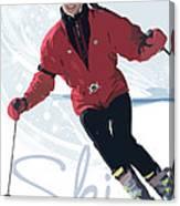 Ski 3 Canvas Print
