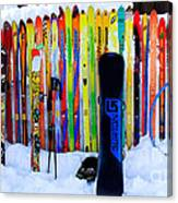 Adventure Ski Canvas Print